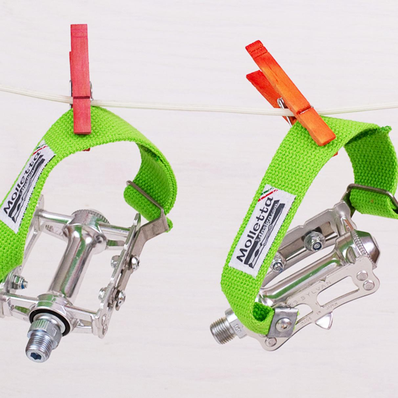Bicibands Bicibands Wasabi  Fixed Gear Track Pedal Straps # Wasbak Geur_200851